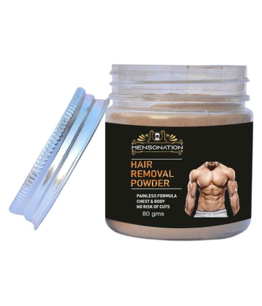 Mensonation Hair Removal Powder 80 G Buy Mensonation Hair Removal