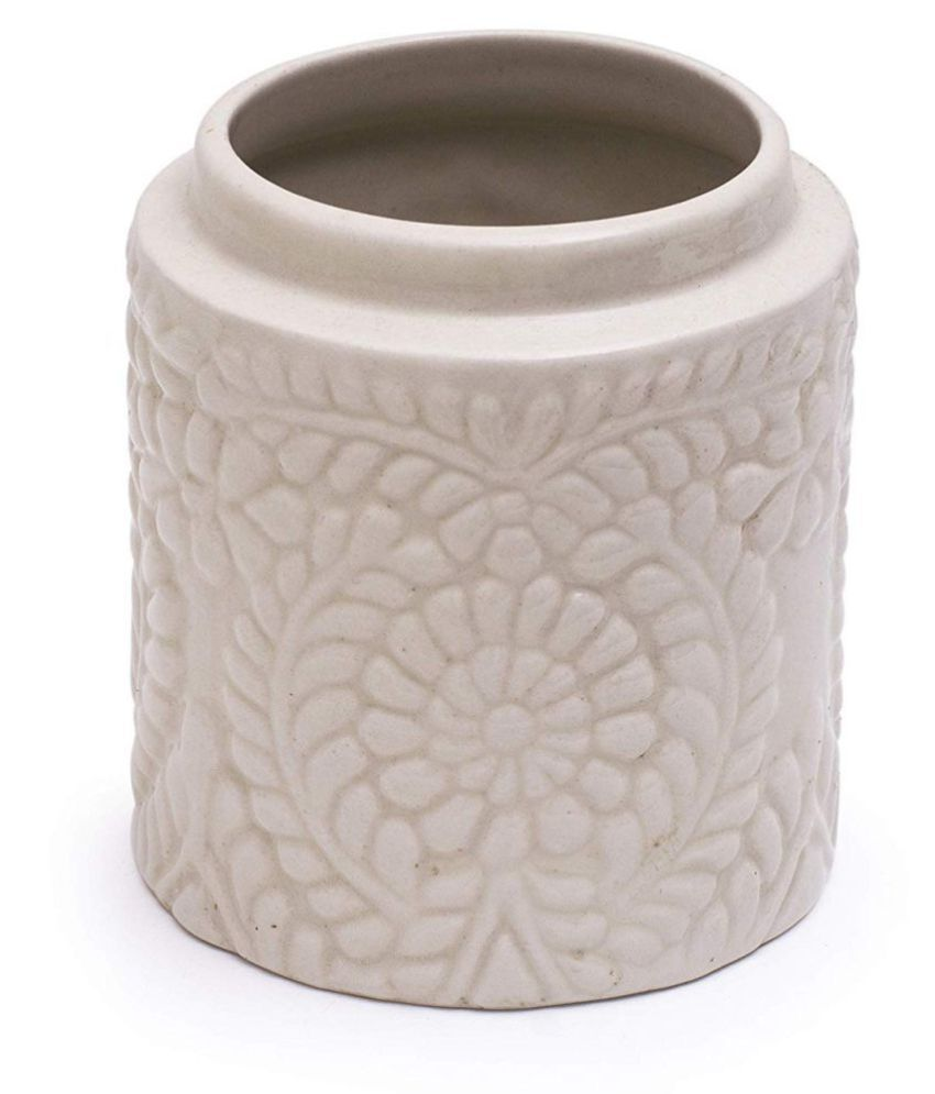 Casa Decor Ceramic Pickle Container Set of 1 500 mL