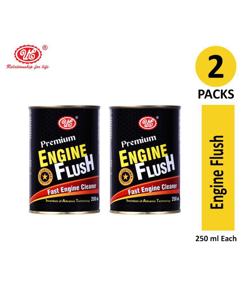 UE Premium Engine Oil Motor Flush to Remove Sludge & Deposits in All Petrol & Diesel Car - 250 ML (Pack of 2)