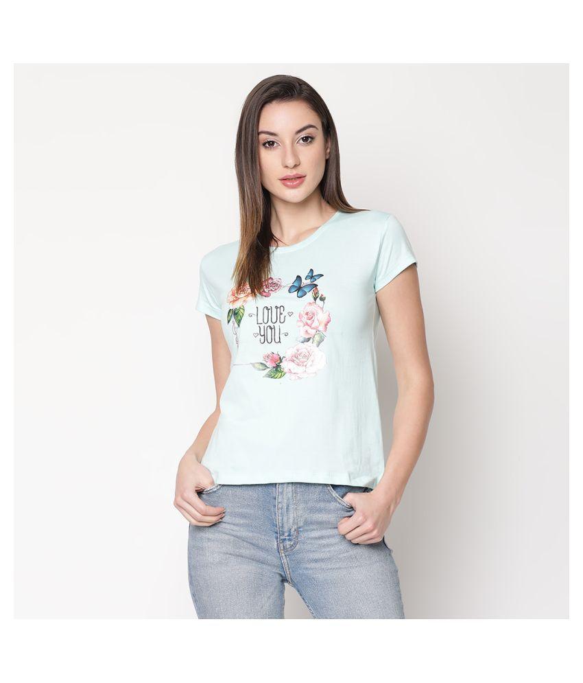 V2 Blue Cotton Shirt