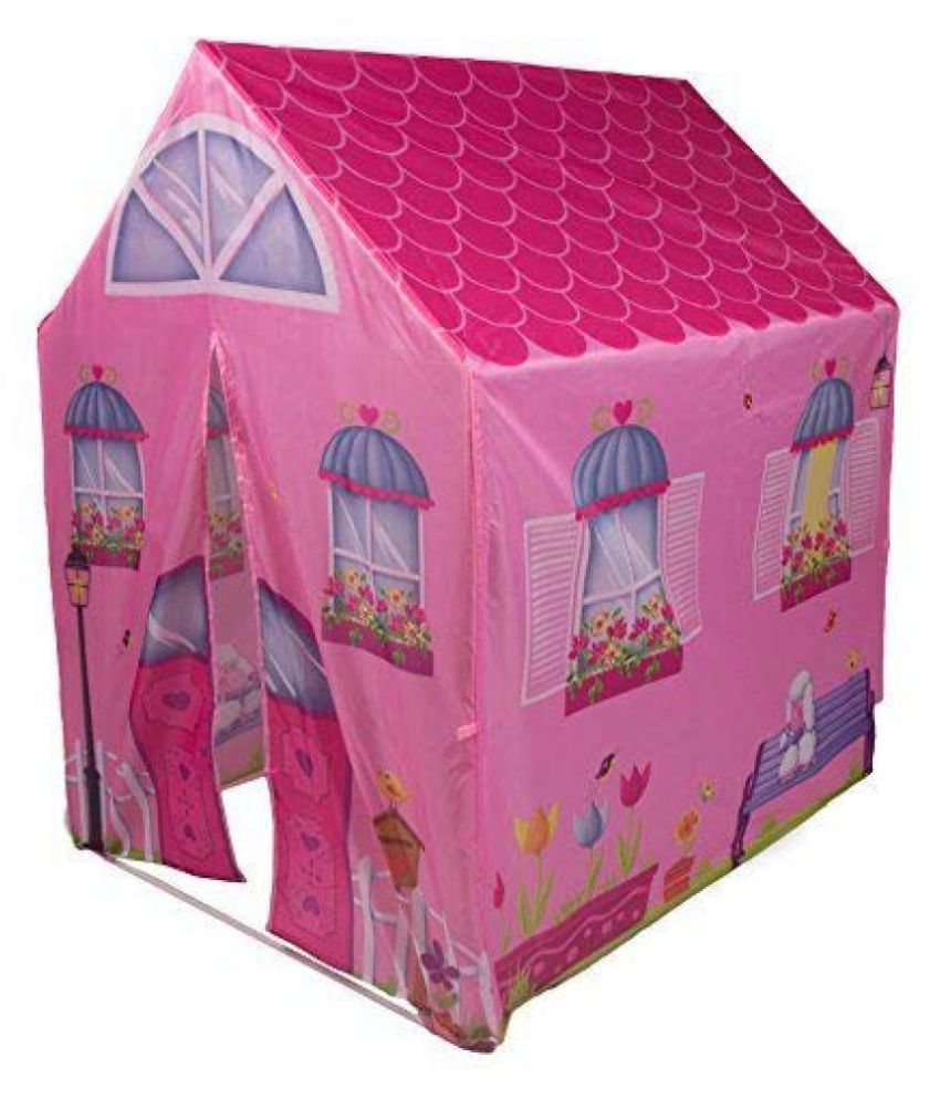 Fastdeal Jumbo Size Extremely Light Weight , Water and Fire Proof Doll House Tent for Kids