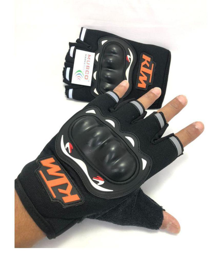 Mubco™ KTM Bike Riding Half Cut Finger Gloves