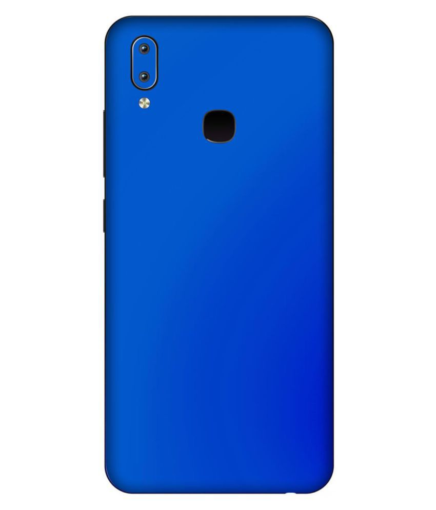 Vivo Y91 Designer Sticker By Leo Power Glossy Blue