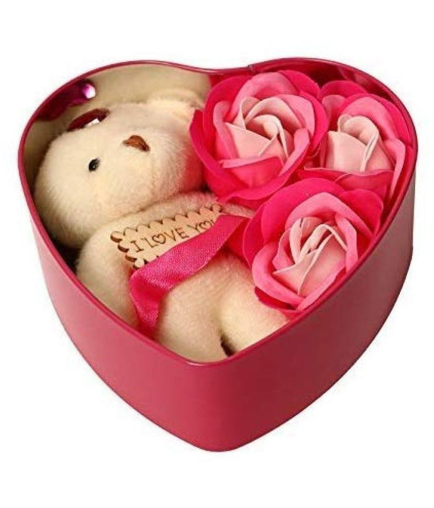 Valentine Gift For Girlfriend Heart Box In 12 Cm Combo Red Dil Buy Valentine Gift For Girlfriend Heart Box In 12 Cm Combo Red Dil Online At Low Price Snapdeal
