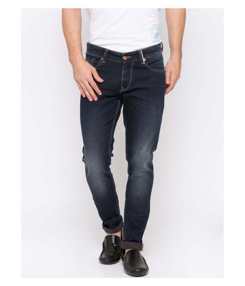 Spykar Dark Blue Super Skinny Jeans