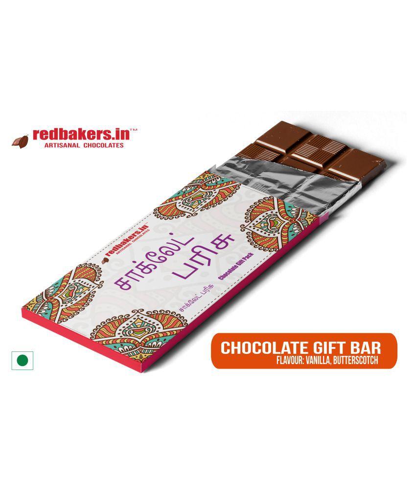 redbakers.in Chocolate Box Tamil Chocolate Bar 100 gm