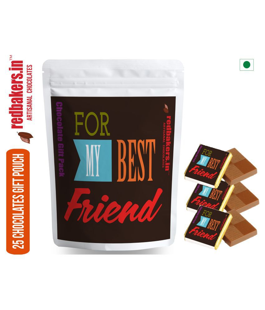 redbakers.in Chocolate Sampler Best Friend  25 Chocolate Gift Pack 250 gm