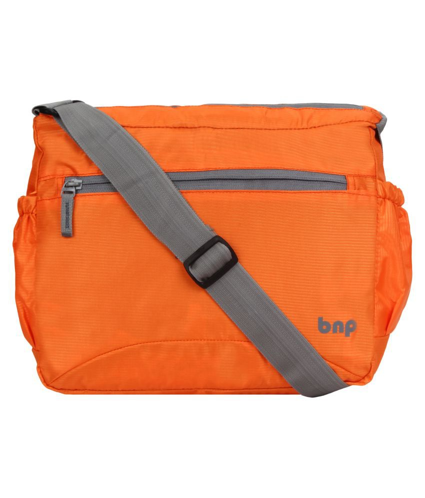 bnp KUI_497 Orange Polyester Casual Messenger Bag