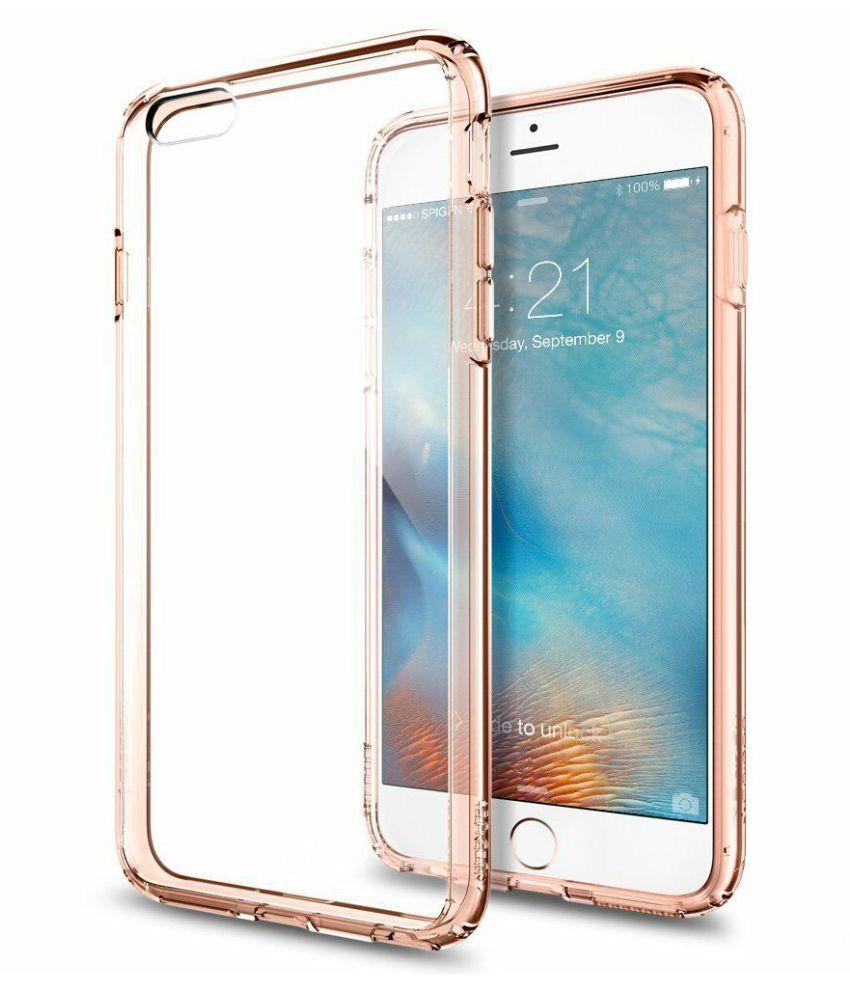 Apple iPhone 6S Plus Plain Cases Spigen   Transparent