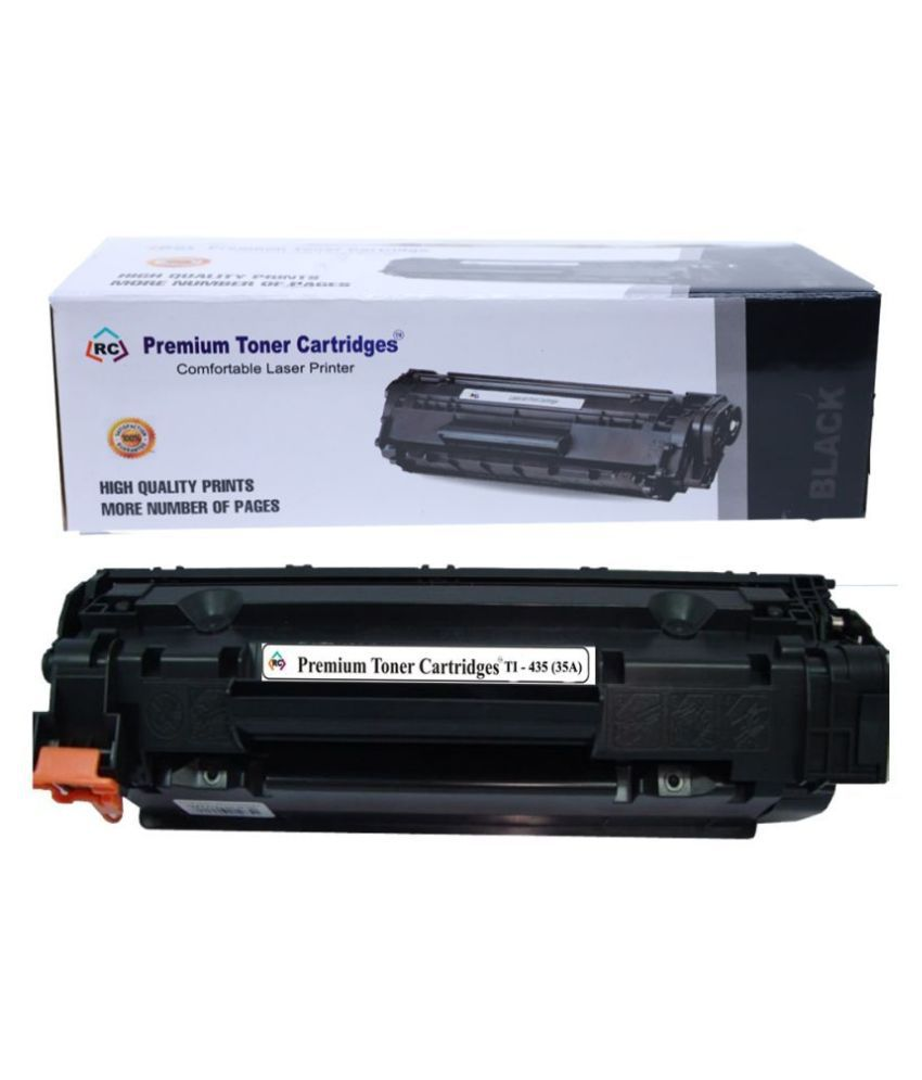 Premium toner cartridges Black Single Cartridge for Compatible :For printer Use HP 435A 1005/1006