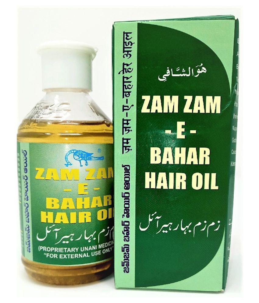 ZAM ZAM E BAHAR HAIR OIL 200 mL