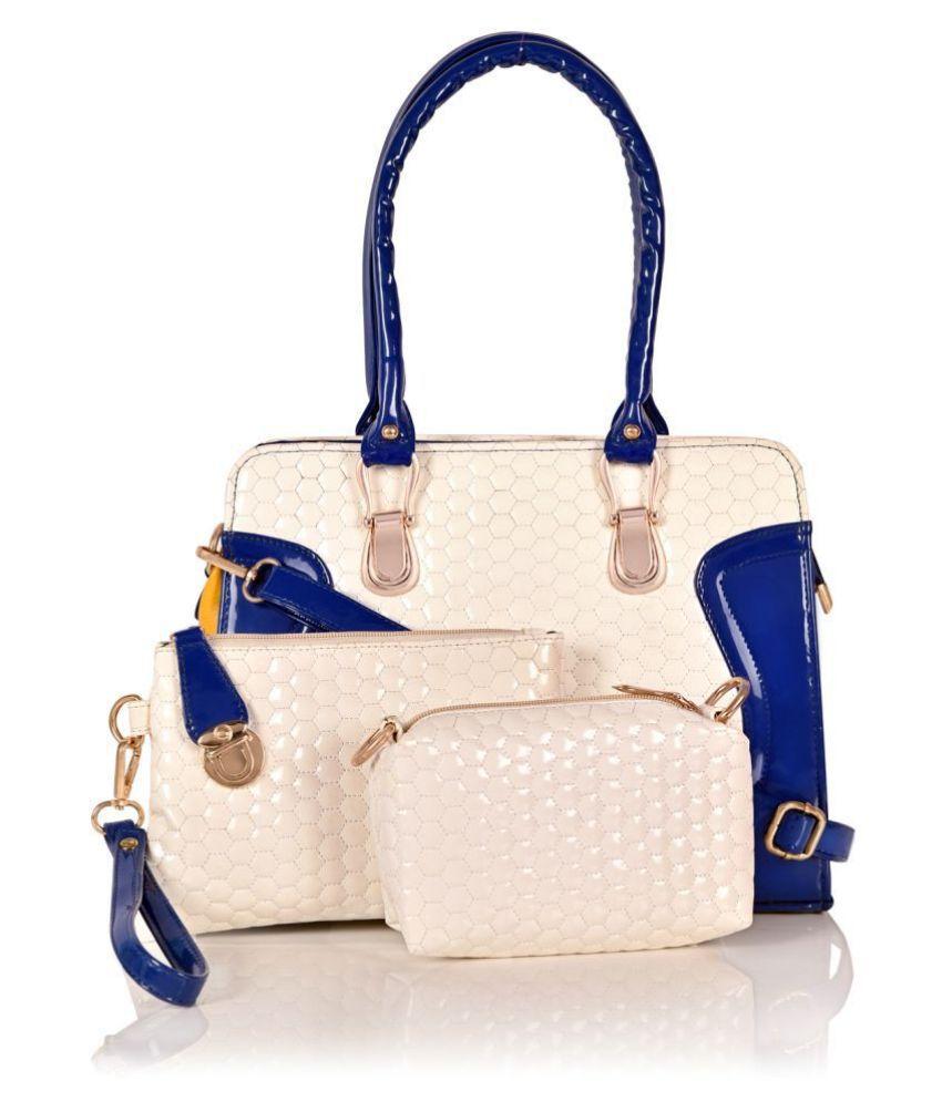 MARISSA BAG Blue Artificial Leather Handheld