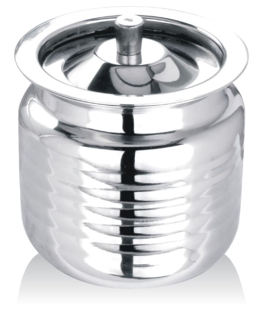 APEIRON Ghee Pot with Spoon No Coating Stainless Steel Pot 10 cm 300 mL