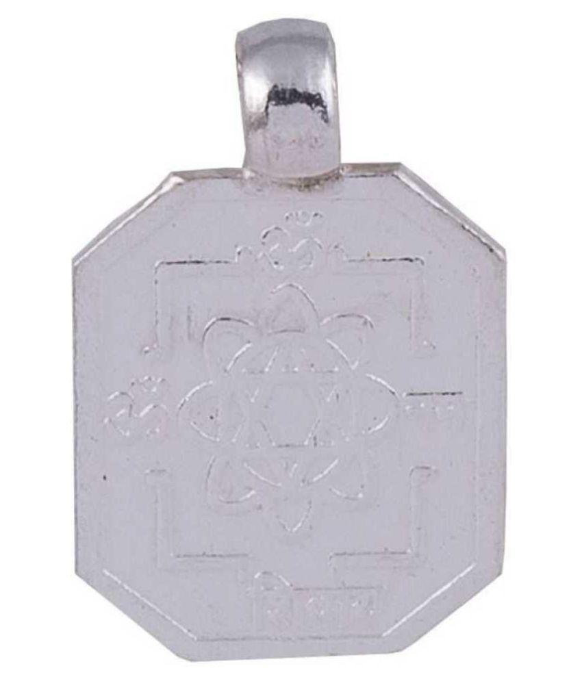 Shiv Kripa Kavach Pendant Silver Silver Locket