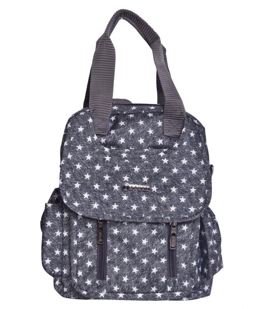 Trust Black Polyester College Bag
