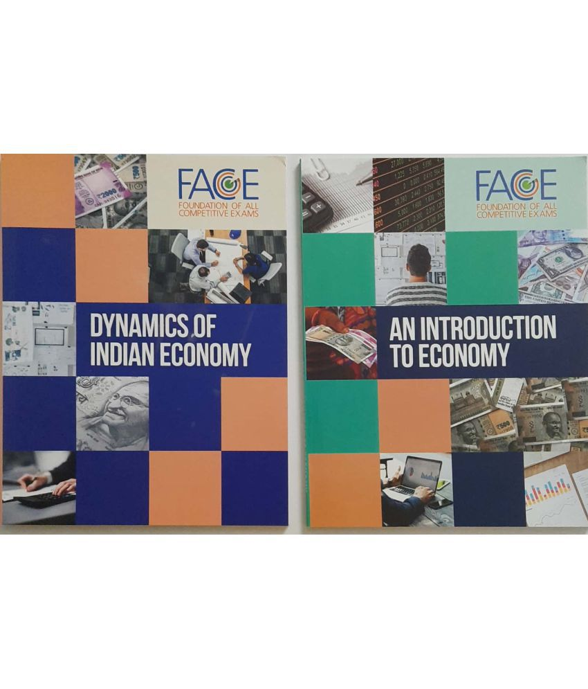 UPSC BOOKS for Indian Economy&Dynamics (Set of 2 Books)