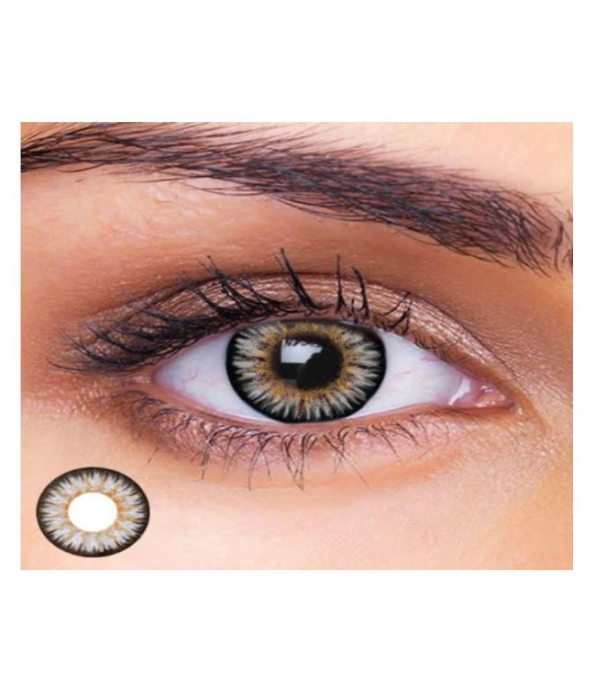 OLSA GREY COLORED LNS Monthly Disposable Color Lenses