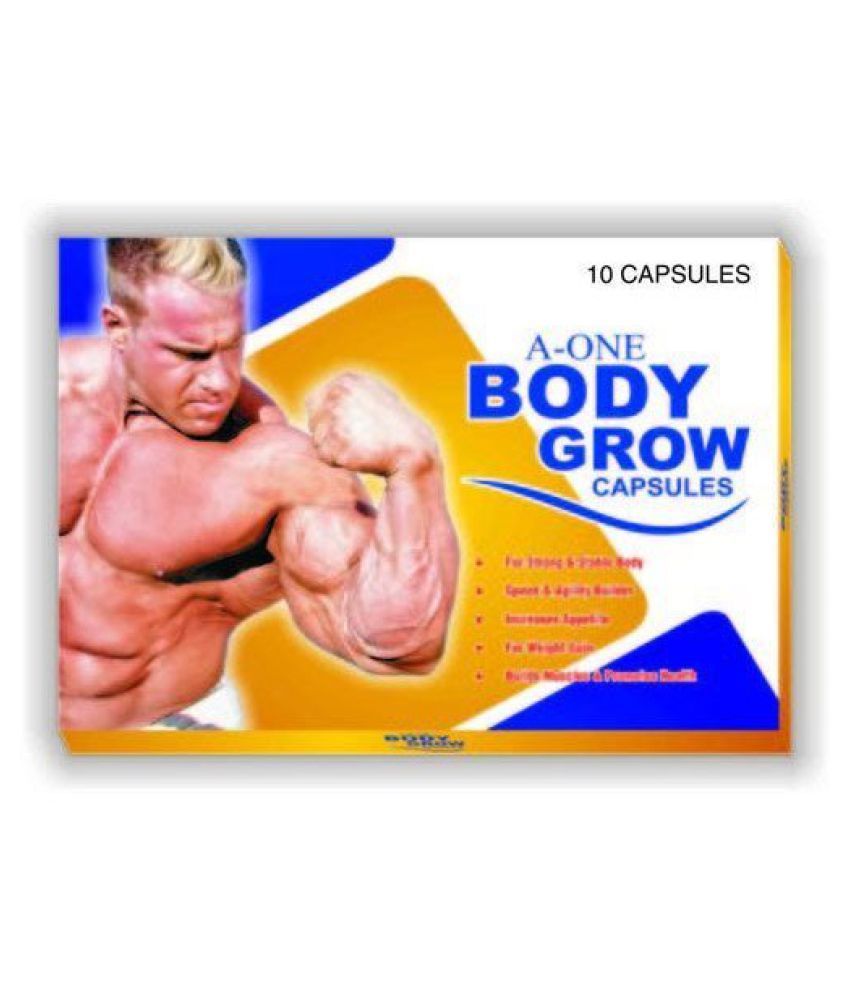 Cackle's A One Body Grow (10x10=100) Capsule 100 no.s