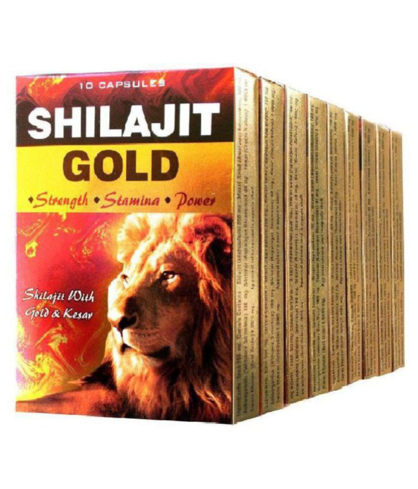 Cackle's G & G Shilajit Gold (3x10=30) Capsule 30 no.s