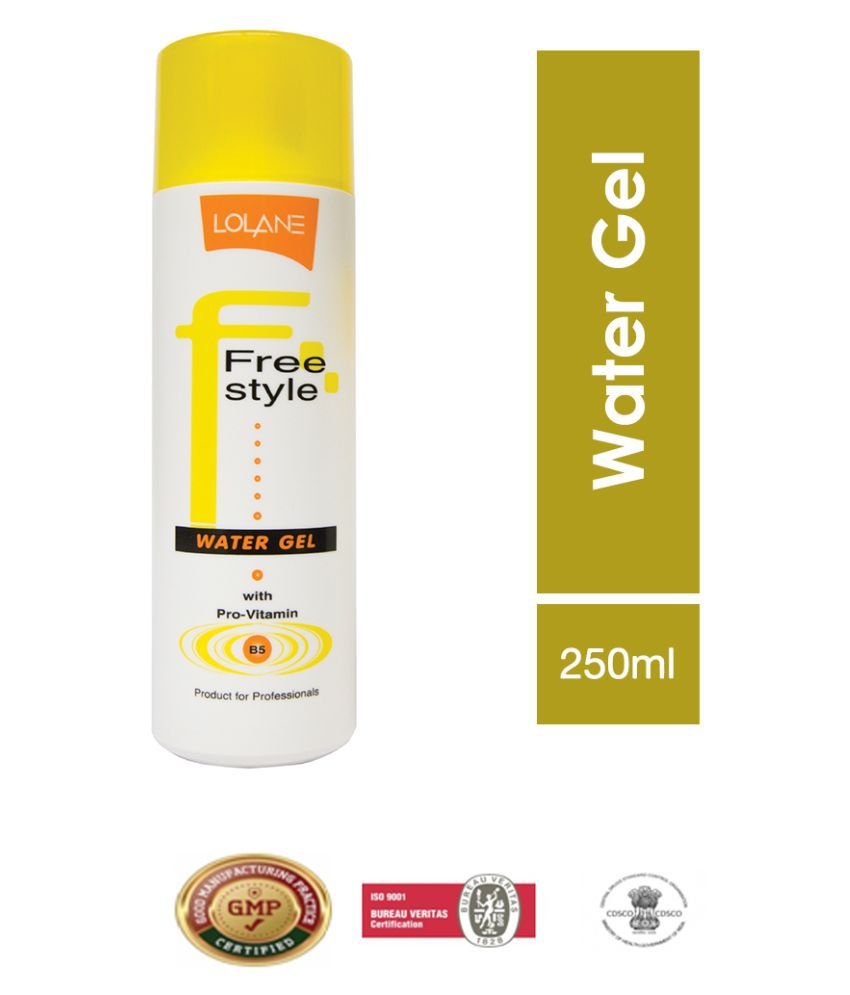 Lolane Freestyle Water Gel Firm Hold Gel 250 mL Pack of 2