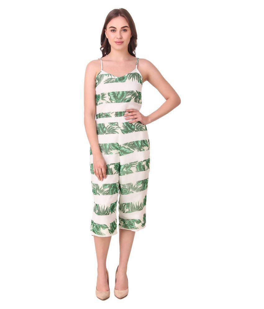 VOGUE&savvy Multi Color Georgette Jumpsuit