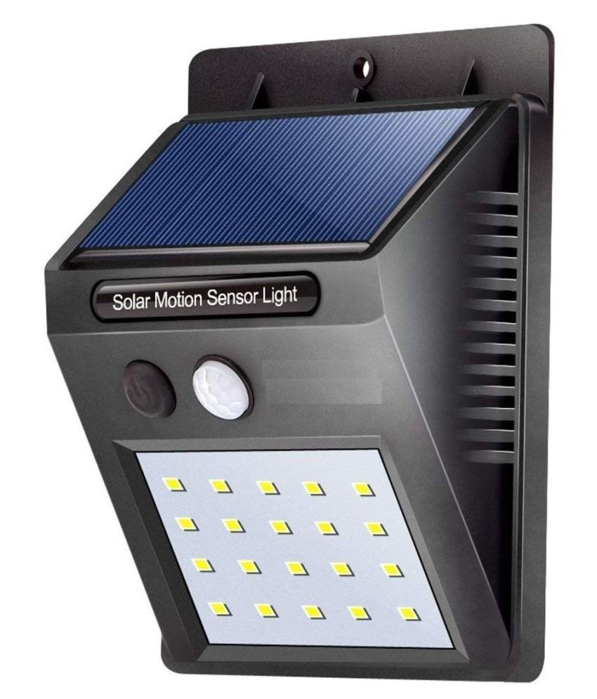 Genric 4W Solar Outdoor Wall Light - Pack of 1