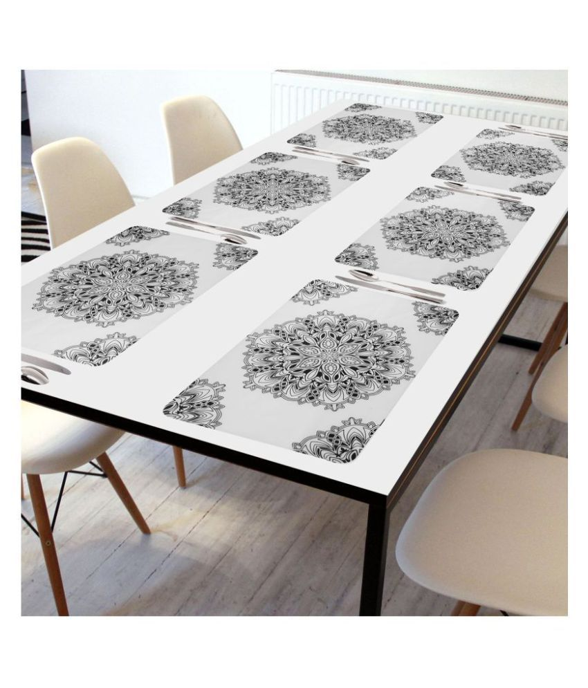 Revexo Set of 6 PVC Table Mats