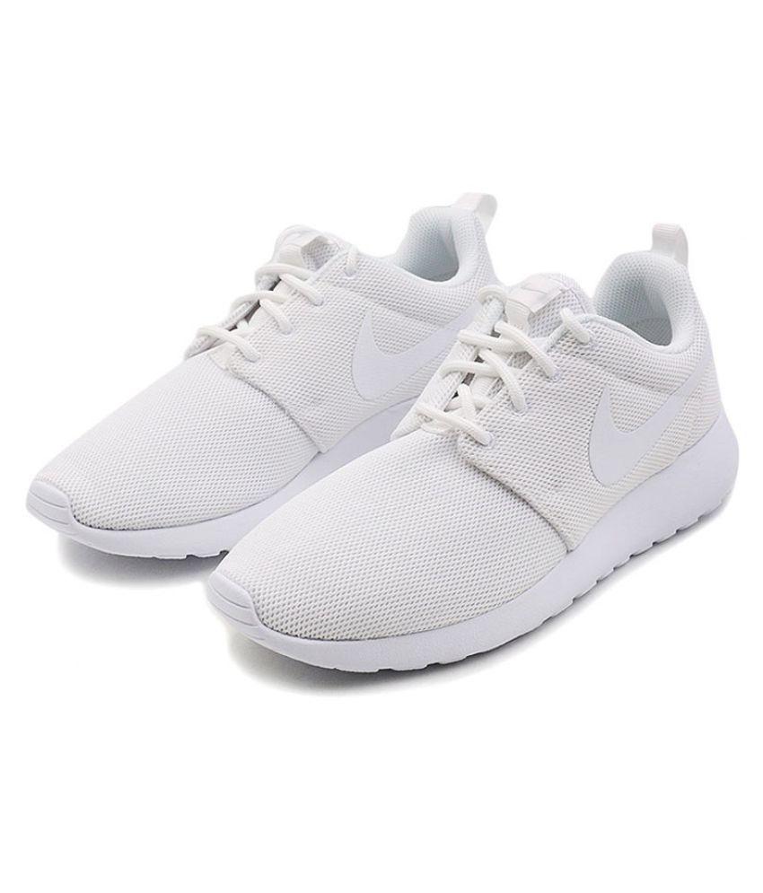 Niek White Running Shoes