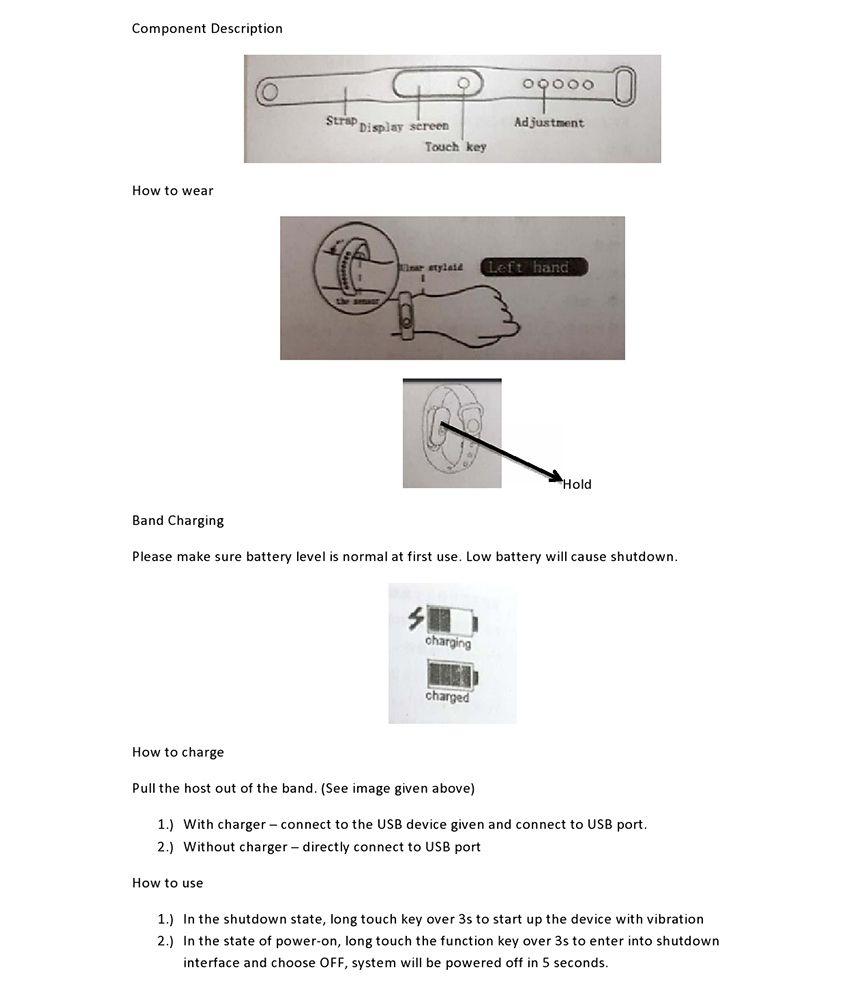 ASTOUND M2 Bluetooth Intelligence Health Smart Band Wrist Watch Monitor  Smart Bracelet Fitness Tracker Wristband