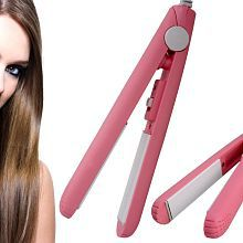 Jm Mini Flat Iron 45W Hair Straightener ( Pink )