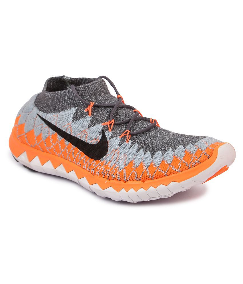 16e4cceffa4 Nike FREE 3.0 FLYKNIT Black Running Shoes - Buy Nike FREE 3.0 FLYKNIT Black  Running Shoes Online at Best Prices in India on Snapdeal