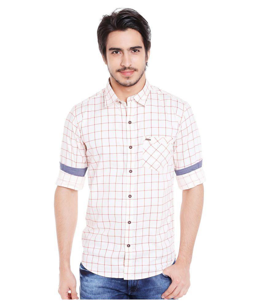 Donear Nxg 100 Percent Cotton Shirt