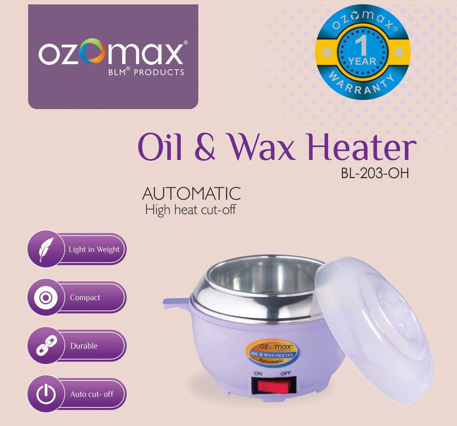 OZOMAX Oil & Wax Heater HA-107 1