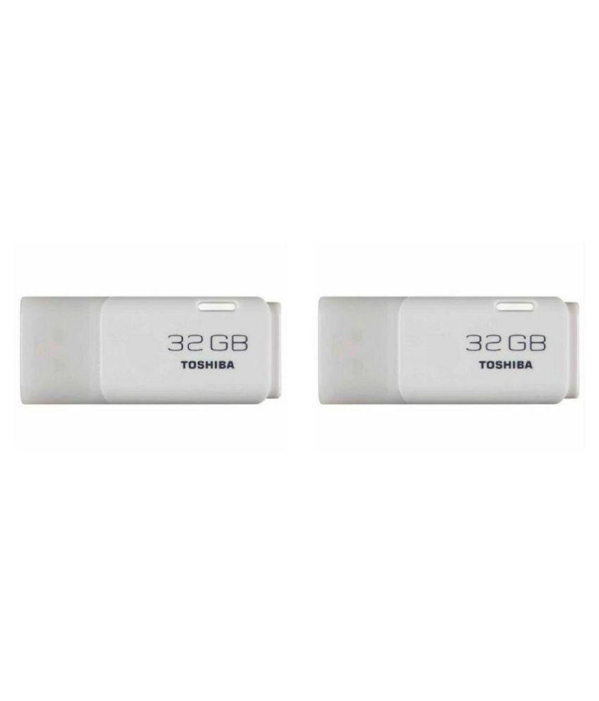 Toshiba THN-U202 16GB USB 2.0 Utility Pendrive Pack of 2