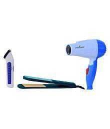 StyleManiac Straightener,Trimmer Hair Dryer ( Multi )