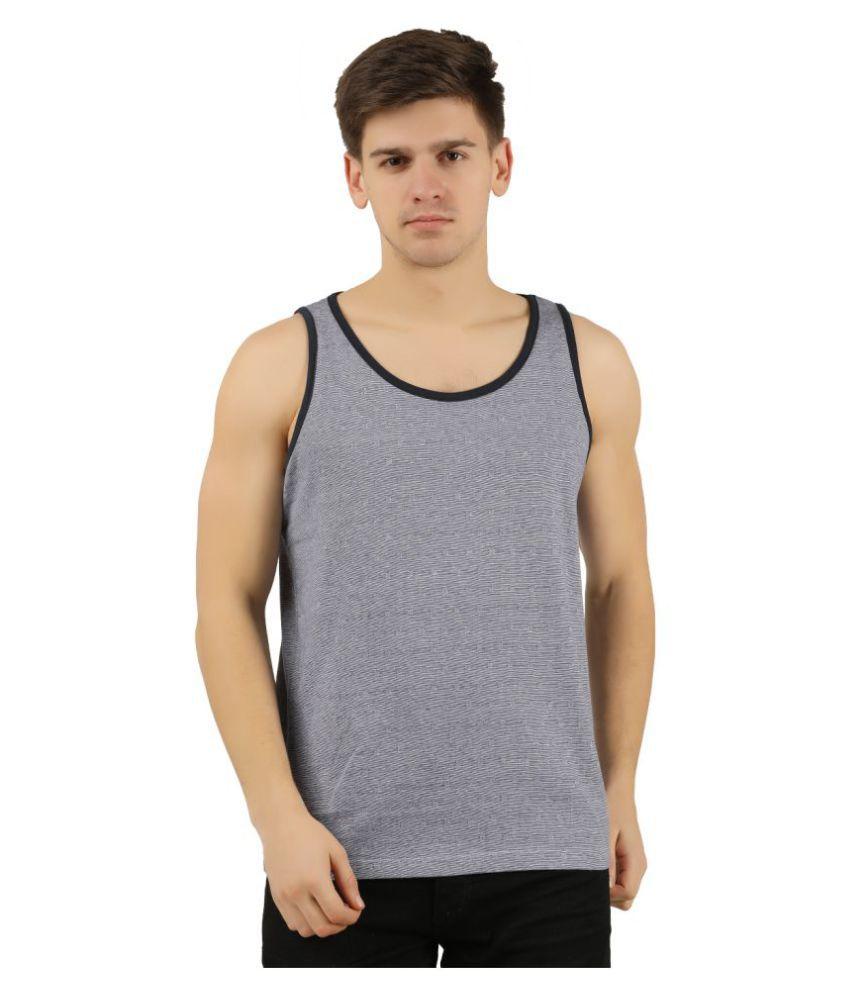 Trove Blue Sleeveless T-Shirt Pack of 1