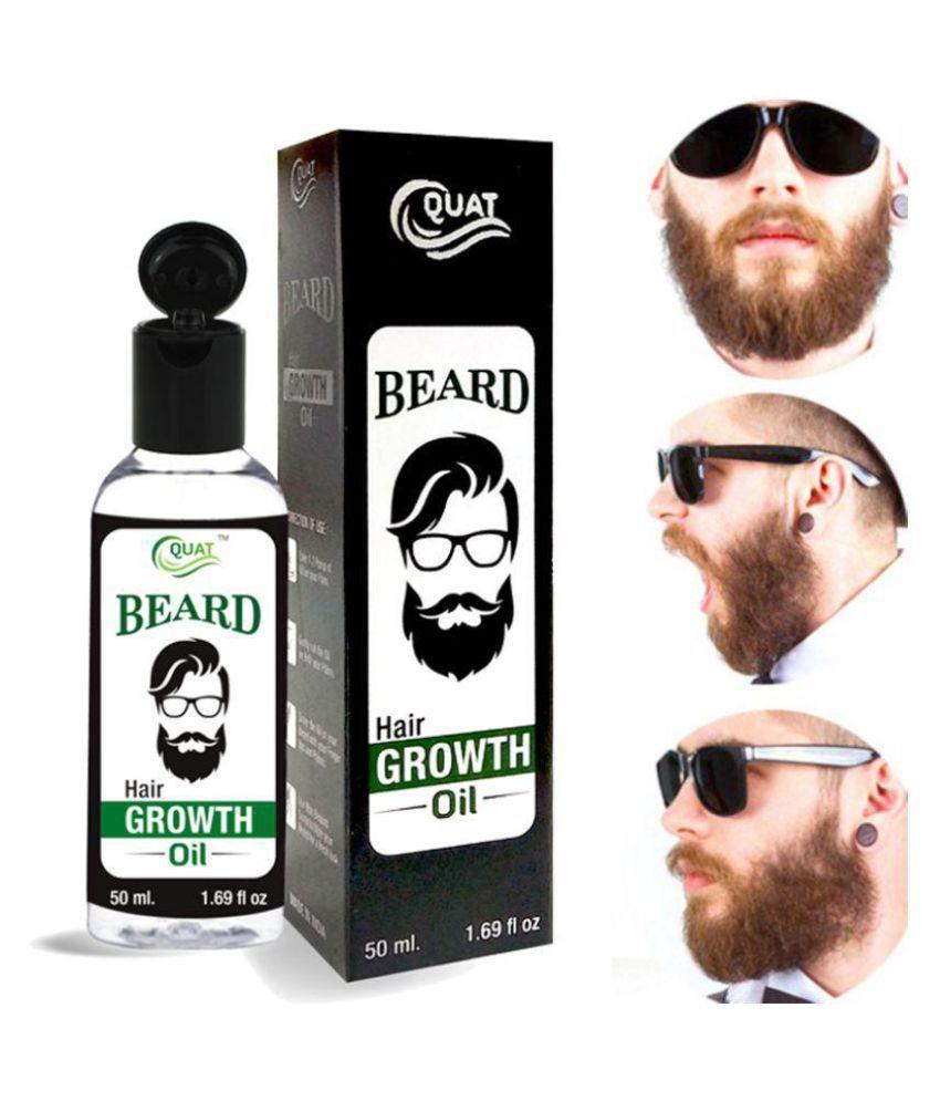 Quat Natural Beard Oil Growth Oil 50 ml