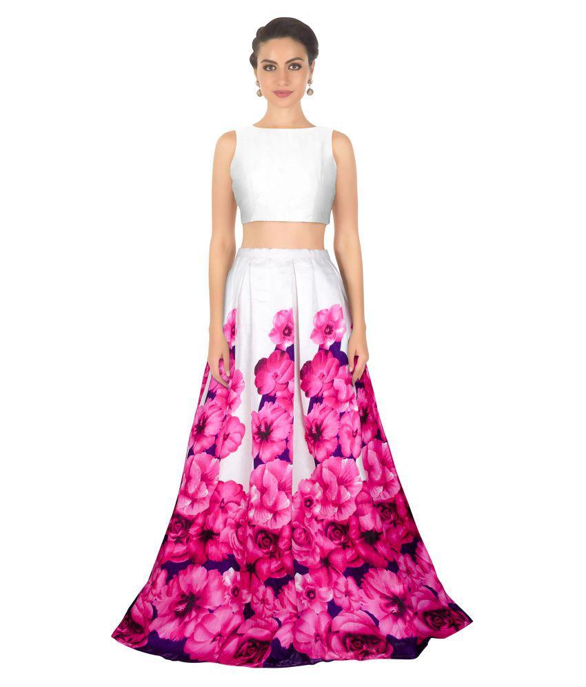 51a71e8b65 Vkaran Pink Bangalore Silk Circular Semi Stitched Lehenga - Buy Vkaran Pink  Bangalore Silk Circular Semi Stitched Lehenga Online at Best Prices in  India on ...