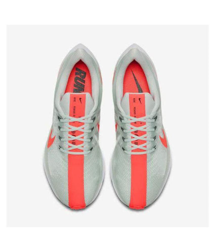 6c9601a62c3 Nike Zoom X Pegasus Turbo Running Shoes Gray For Gym Wear  Buy Online at  Best Price on Snapdeal