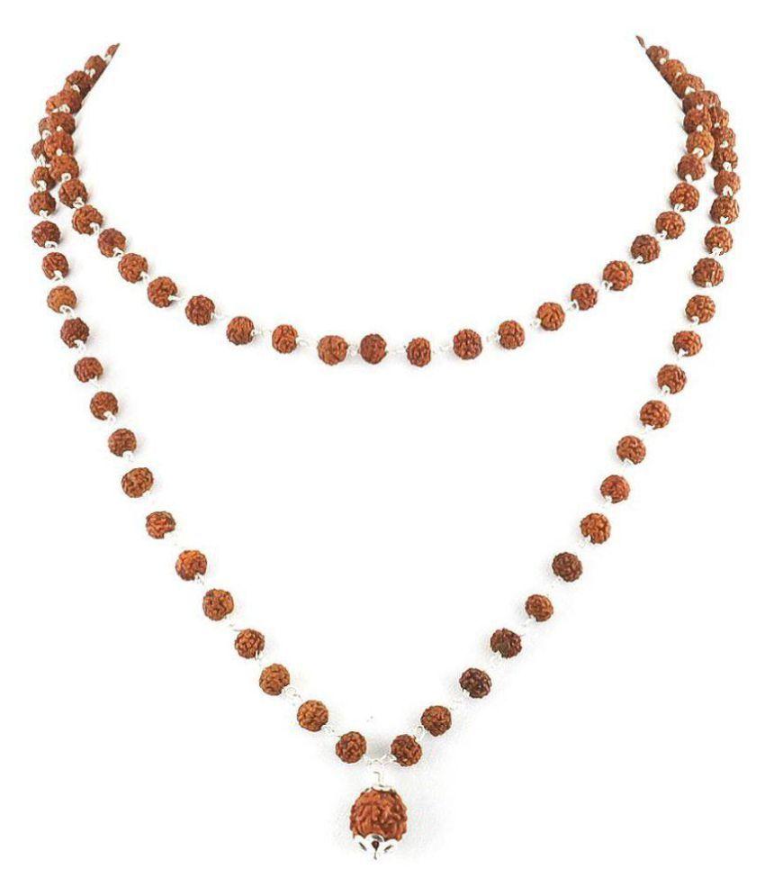 Shiv Rudraksha beads mala Natural & original shiv beads Jaipur Gemstone