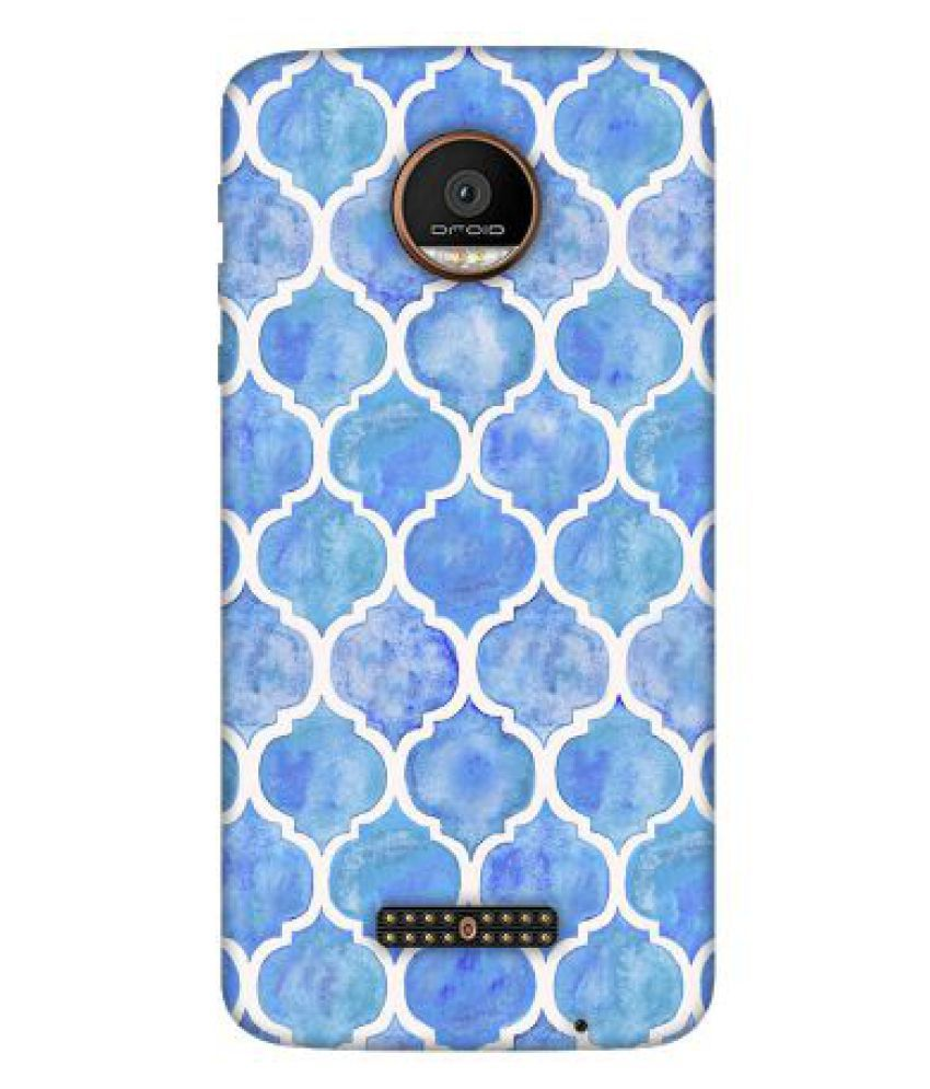 Moto Z Force Printed Cover By Emble