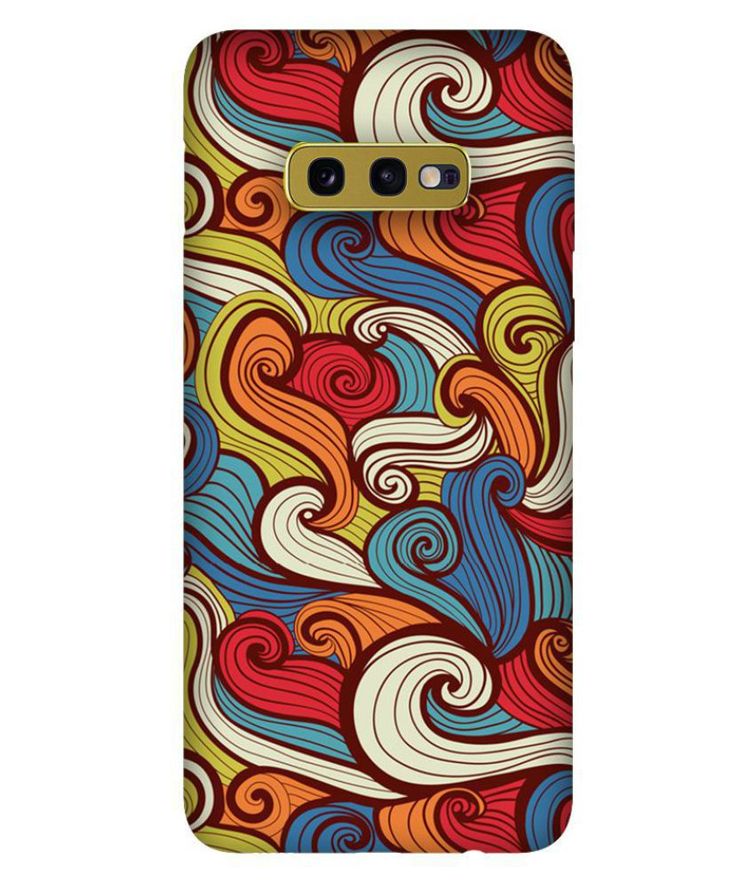 Samsung Galaxy S10e Printed Cover By Emble