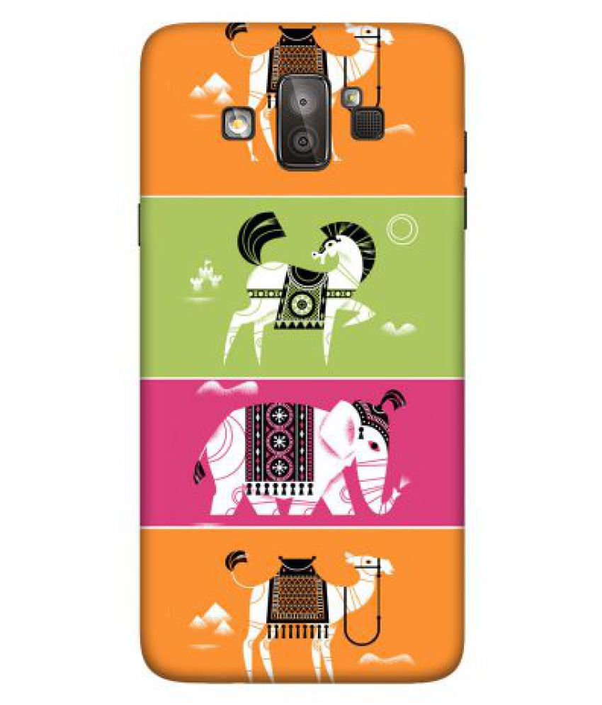 Samsung J7 Duo Printed Cover By Emble