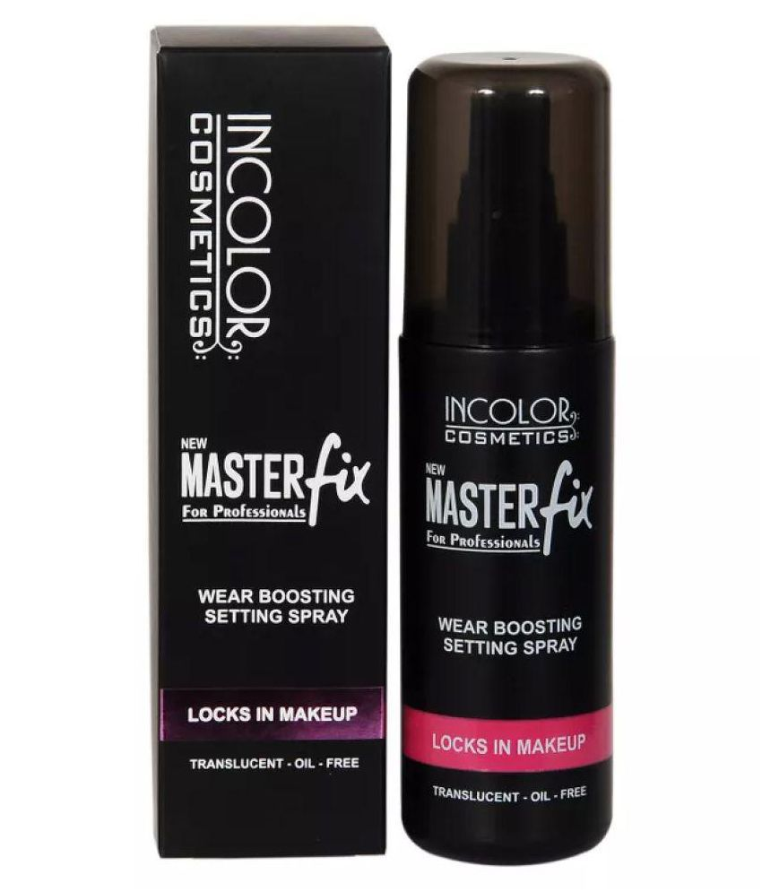 Incolor Master Fix Wear Boosting Face Makeup Setting Spray 100 ml