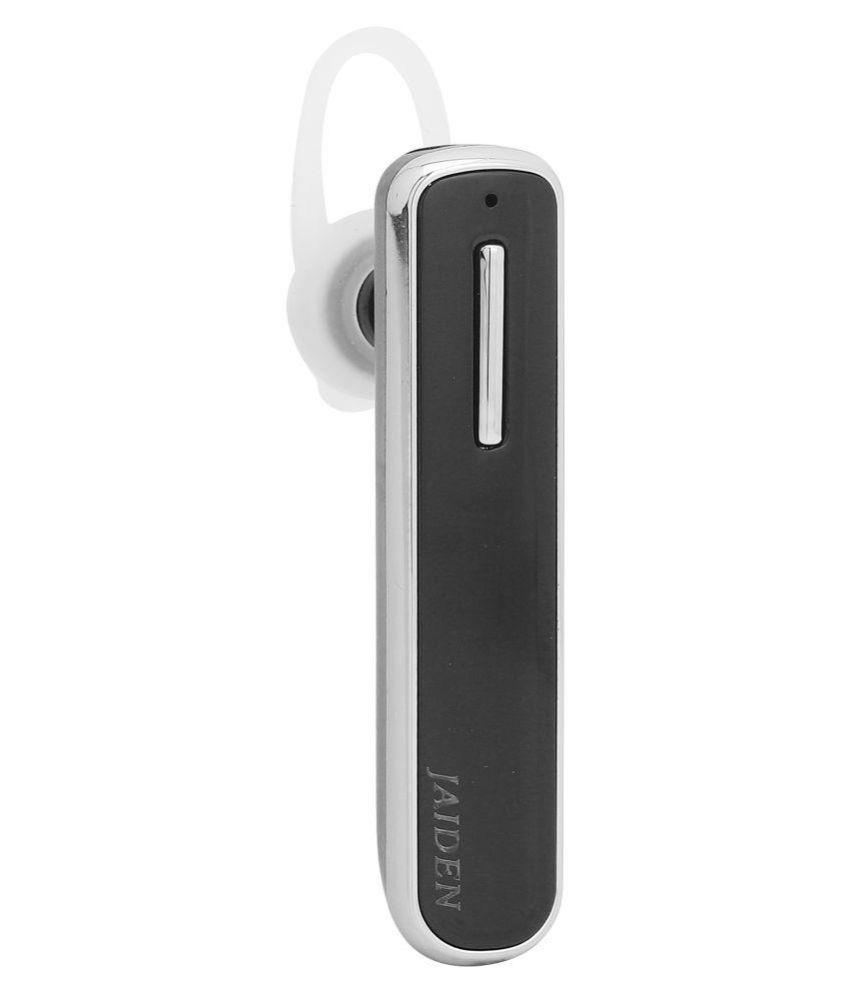 JAIDEN Single Ear Wireless Bluetooth Headset   Black