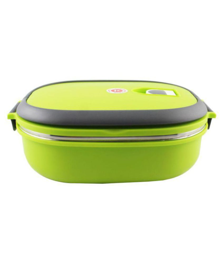 Jeeya Power Plus Zippy Bag Plastic Microwaveable Study and Office Containers Lunch Box  750 ml  3 Containers Lunch Box