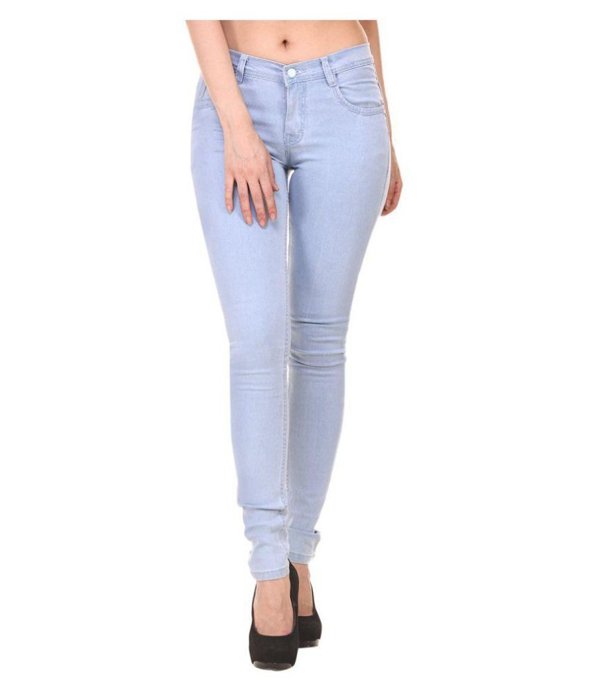 Florona Denim Jeans - Blue