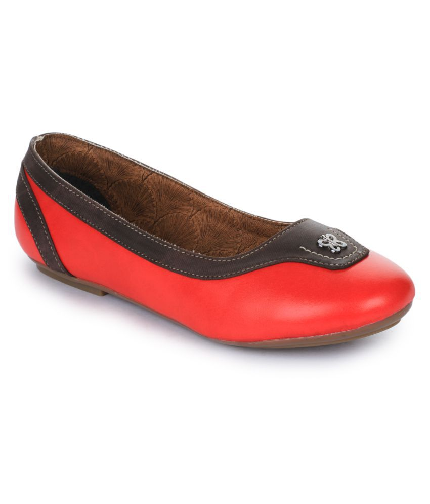 Senorita By Liberty RED Casual Shoes