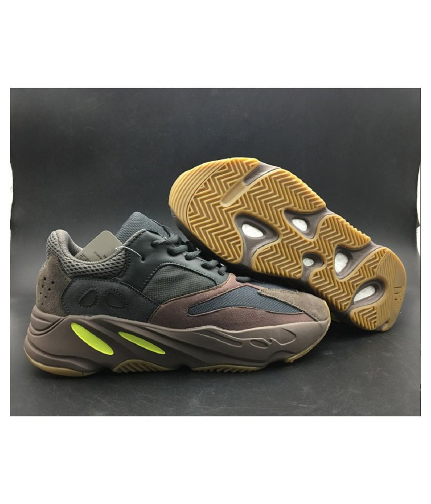 pretty nice ee19a f2d8f Adidas 700 Mauve Brown Running Shoes