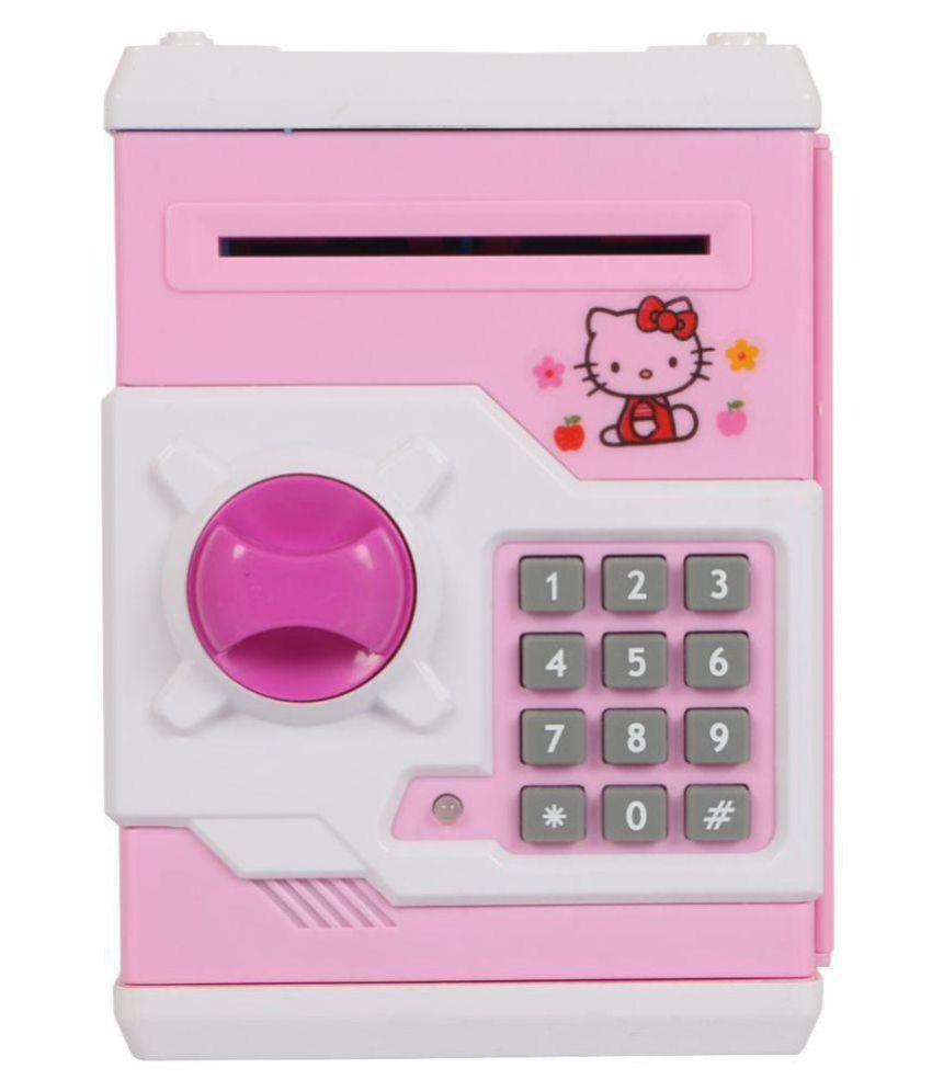 4c7130334 Hello Kitty Piggy Bank (Mini ATM) for Kids - Buy Hello Kitty Piggy Bank  (Mini ATM) for Kids Online at Low Price - Snapdeal